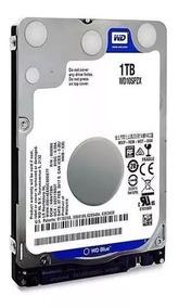 Hd Notebook 1tb - Wd Scorpio Blue - 6.0gb/s 2,5 8mb Wd10spzx
