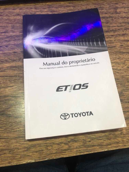 Manual Do Proprietário Toyota Etios 2014