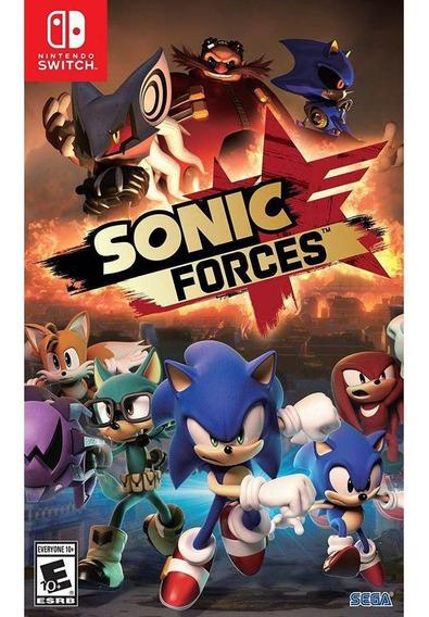 Sonic Forces - Nintendo Switch Midia Fisica Lacrado