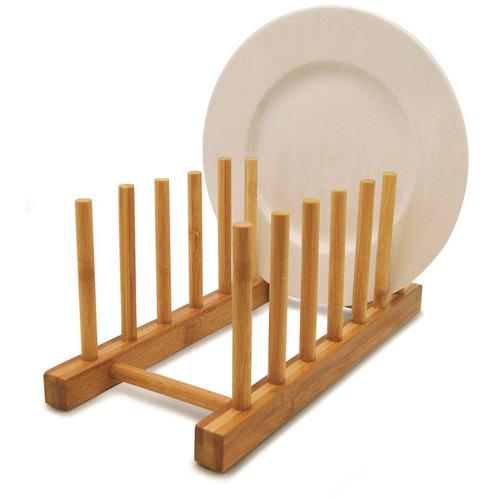 Escorredor Pratos Bambu Clink