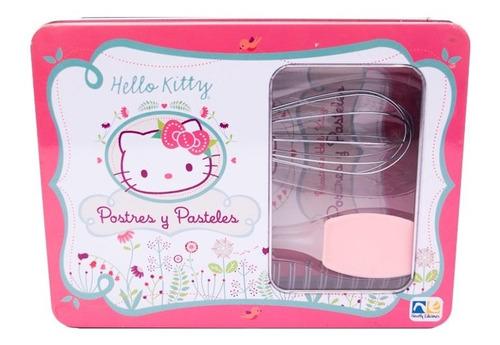 Postres Y Pasteles Con Hello Kitty En Caja Metalica Kno-118