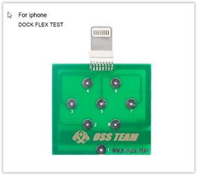 Placa Dock Flex Test Apple
