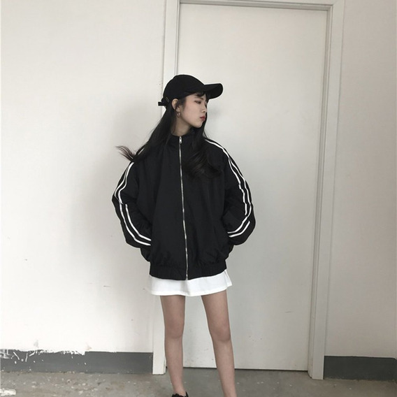 Ropa De Abrigo Fina Para Mujer Japón Cool Chaquetas De Párra