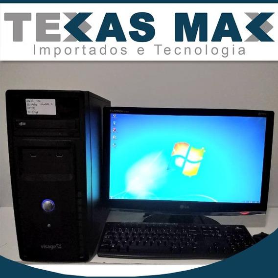 Computador I5 +monitor15+teclado+mouse 4gb Mem. Hd 500 Gb