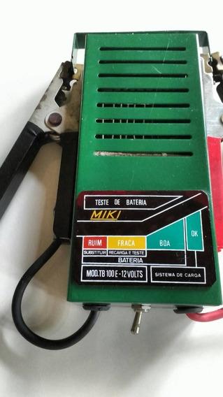 Teste De Baterias Miki Antigo