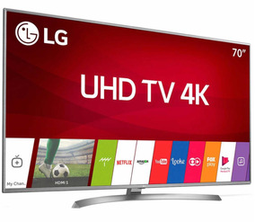 Smart Tv Lg 70 Polegadas 4k Ultra Hd Modelo 70uj6585