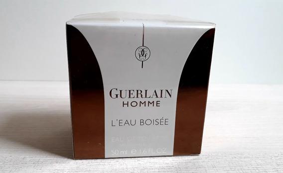 Perfume Guerlain Homme L´eau Boisée Edt 50ml (lote 2014)