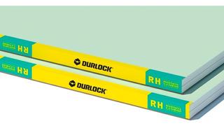 Placa Durlock Resistente Anti Humedad - Verde 12,5