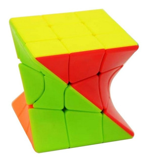 Cubo Magico Mix Pleno 3x3 Cube World Magic Jyj019 Mundomania
