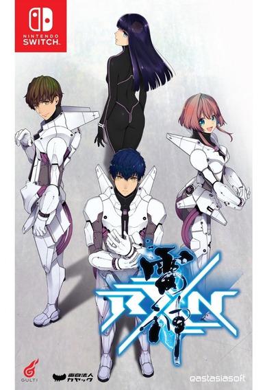 Rxn Raijin Limited Edition Nintendo Switch Midia Fisica