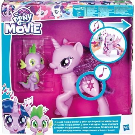My Little Pony Twilight Canta Con Spike Dragon C0718 Hasbro