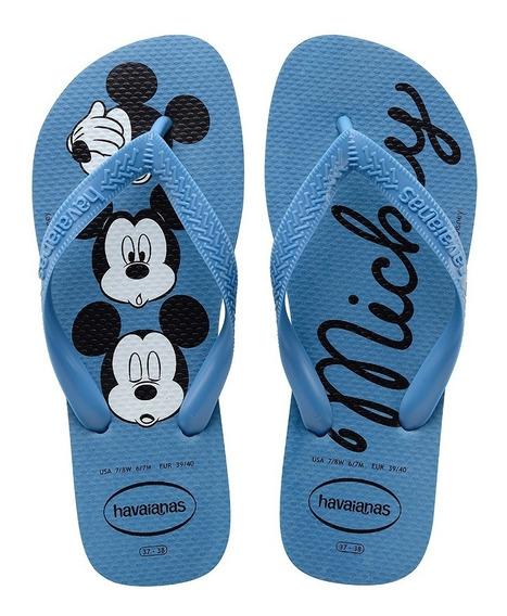 Chinelo Havaianas Sandália Feminino Top Disney Mickey Minney
