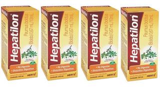 Combo Hepatilon Fitoterápico Contra Má Digestão Azia 4x150ml