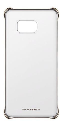 Imagem 1 de 6 de Capa  Clear Cover Original Samsung Galaxy S6 Edge+ Plus