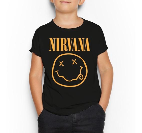 Playera Niño(a) Nirvana Envío Gratis
