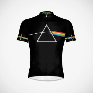 Camisa Masculina De Ciclismo Pink Floyd Primal