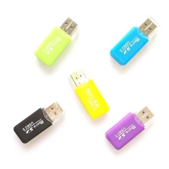 Lector Micro Sd Tarjetas Mmc Usb Pc Laptop Mini 480mbps