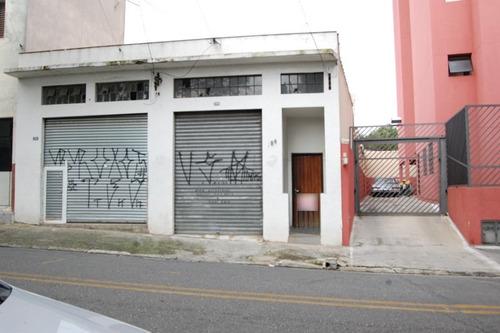 Casa Terrea Vaga C/ Salão Comercial Rudge Ramos - 1033-9778