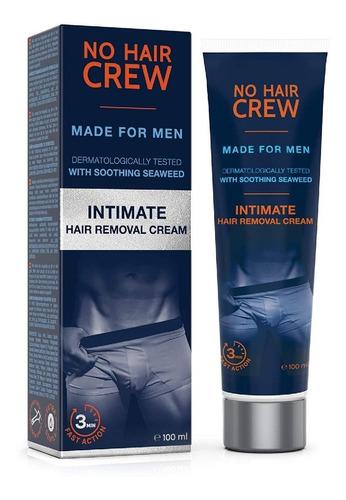 Imagen 1 de 7 de Crema Depilatoria Partes Intimas Para Hombre No Hair Crew