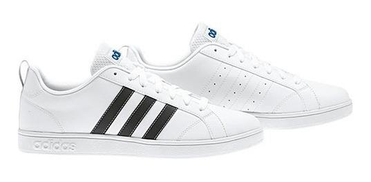 Tenis adidas Vs Advantage F99256 Blanco-negro Caballero Pv