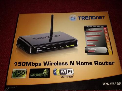 Router Inalámbrico Trendnet 150 Mbps Impecable