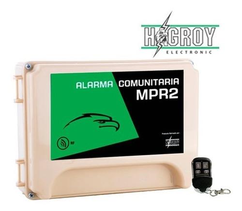 Alarma Comunitaria Mpr-2 Hagroy  , Hg-mpr2
