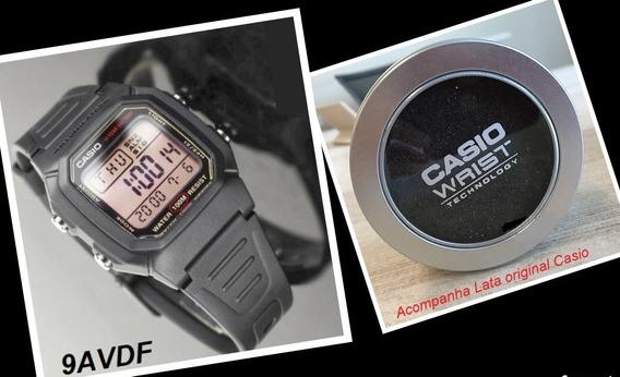 Relógio De Pulso Digital Casio Cronógrafo 100m W800-h