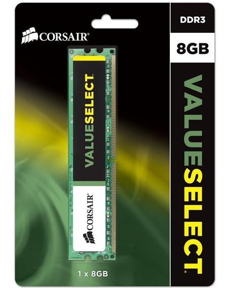 Memoria Ddr3 Corsair 8gb 1600 Mhz Value 20