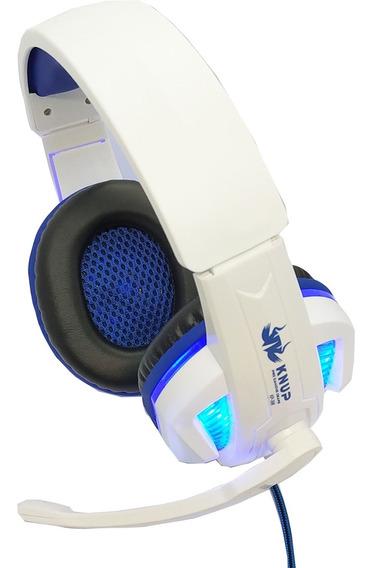 Fone Ouvido Headset Gamer Knup Com Microfone Pronta Entrega
