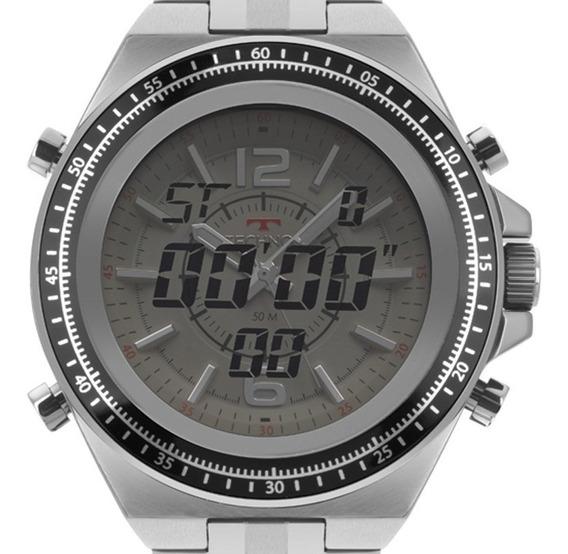Relógio Technos Anadig Caixa Grande Masculino 2035mos/1b