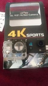 Camera Sportscam 4k Wifi Fullhd 1080p Prova D´agua