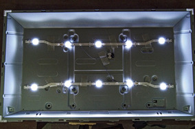 Kit Led Tv 32 Samsung 2 Barras 5 Leds Un32j4000 Un32j4300ag