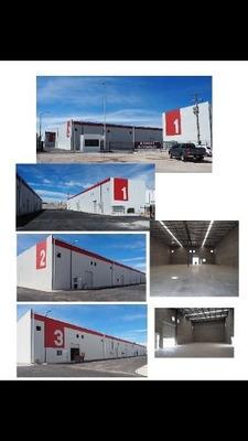 Bodegas En Renta Desde 288m2 Hasta 821.53m2 Ubicadas En Complejo Industrial Chihuahua.
