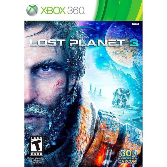 Lost Planet 3 Xbox 360 Original Midia Fisica Novo Lacrado
