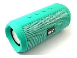 Parlante Portatil Bluetooth Lector Sd Bkt 6w Radio Cuotas!