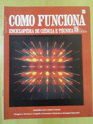 Pl163 Revista Fasc Como Funciona Nº35 Litografia