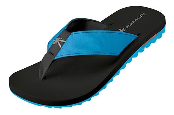 Sandália Kenner Kivah Azul Turquesa