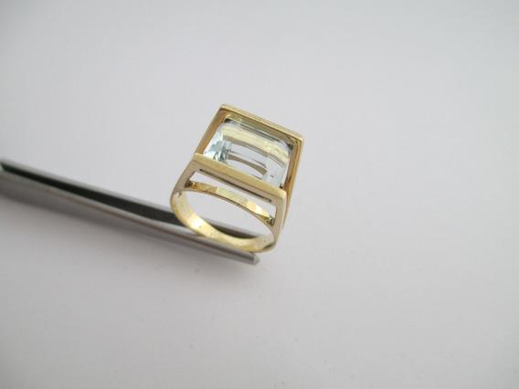Moderníssimo Anel Em Ouro 18k - 5.17 Gr - Aro 15