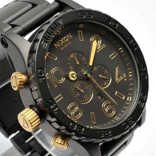 Nixon 51-30 1041 Matte Black Gold, Impresionante! 35% Off!