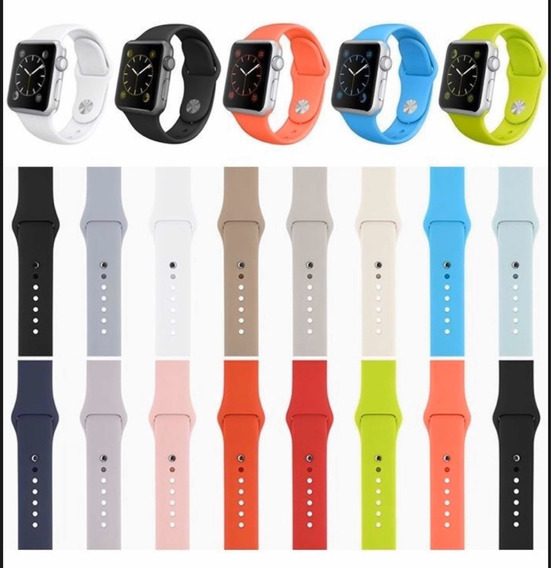 Lote De Extensibles Apple Watch 10 Piezas