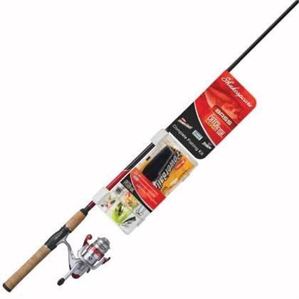 Combo 2pzas Para Pesca De Pavon Cmf Bass Shakespeare