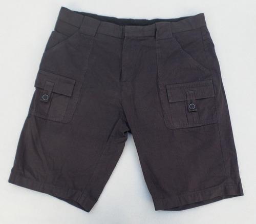 Pantalon Bermuda Zara Man Talle 36 De Algodon