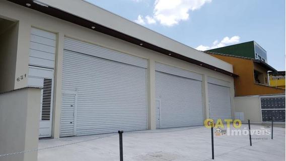 Salão Comercial Para Locação Em Cajamar, Portais (polvilho), 2 Banheiros - 18769_1-1190589