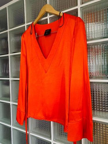 Blusa Roja Ayres - Mujer