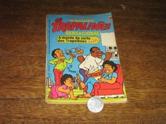 Almanaque Os Trapalhões 1980 Com Moeda Ed Bloch Original