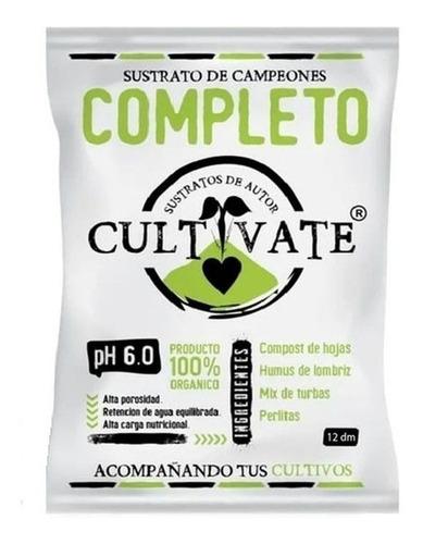 Cultivate Sustrato De Autor - Completo 25 L - 100% Orgánico