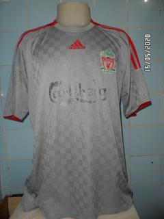 Camisa Do Liverpool Cinza - Cod-01