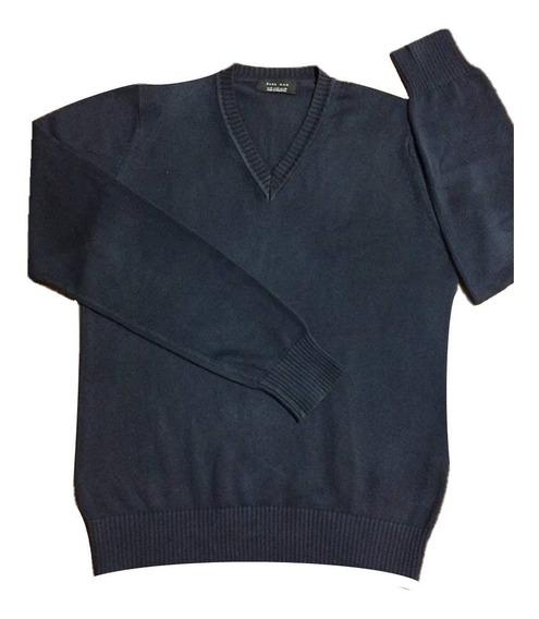 Suéter Social Zara Man Masculino M Novo Importado Original