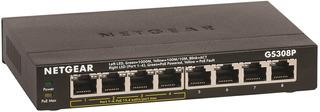 Conmutador Gigabit Ethernet Netgear De 8 Puertos Con 4 Pu