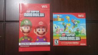 Juego Original New Super Mario Bros Wii